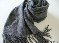 シャドウ織り完成着画 - アトリエひなぎく 手織り日記