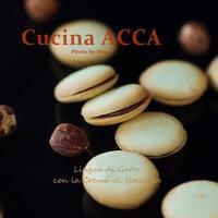 猫の舌:Lingua di Gatto con la Crema di Nocciola - Cucina ACCA