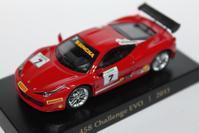 1/64 GRANI&PARTNERS Ferrari 458 Challenge Evo 2013 - 1/87 SCHUCO & 1/64 KYOSHO ミニカーコレクション byまさーる