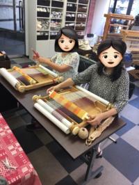 スタジオアウィークをお借りして東京出張講習会 - 手染めと糸のワークショップ