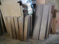 カップボード木取り - 手作り家具工房の記録