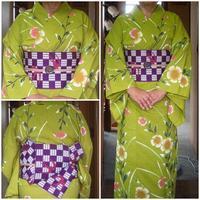着物のお稽古 '17/09/09(ジロ散歩) - 柴犬たぬ吉のお部屋