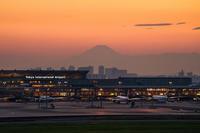 羽田空港夕景 - エーデルワイスPhoto