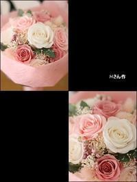 ラウンドブーケの贈り物*レッスン - Flower letters