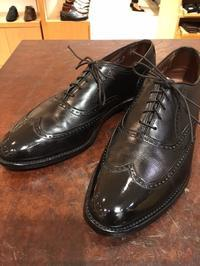 《Allen Edmonds》スタッフの1足 - シューケアマイスター靴磨き工房 三越日本橋本店
