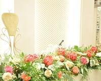 ワイルドフラワーの装花 - ブライダルアルバム