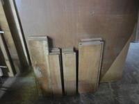カップボード木取りつづき - 手作り家具工房の記録