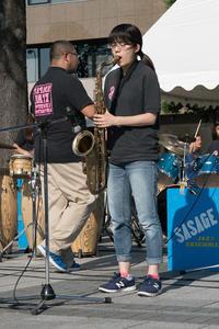 #3119 27th定禅寺ストリートジャズフェスティバル – SASAGE Jazz Ensamble Orchestra (2) - 14番目の月