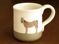 """""""リニューアル""""うまのマグカップ - ブルーベルの森-ブログ-英国のハンドメイド陶器と雑貨の通販"""