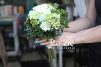 2017.9.10 グリーンのクラッチブーケ/プリザーブドフラワー - Ro:zic die  floristin