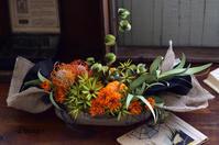 ハロウィンアレンジ&オマケの蜘蛛♪ - Dimages