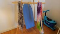 【毛糸を染めてみました】 - ボストン手作り大作戦