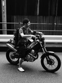 岩立 伸之 & YAMAHA Tricker(2017.07.16) - 君はバイクに乗るだろう