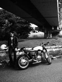 吉田 紘樹 & HONDA CB400SS(2017.08.26) - 君はバイクに乗るだろう