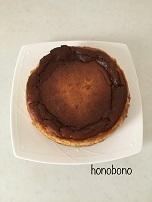チーズケーキ  甜菜糖で作ると甘さがまろやか - 天然酵母パン教室  ほーのぼーの