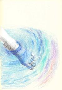 恋の池に落ちた 切り絵コラージュ - 手製本クリエイター&切絵コラージュ作家 yukai の暮らしを愉しむヒント