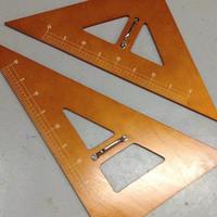 黒板三角定規の購入 - 秘密基地な日々