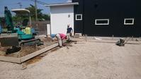 基礎工事 - 木楽な家 現場レポート