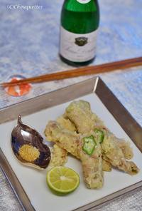 オクラと豚肉の巻き揚げ - Chouquettes