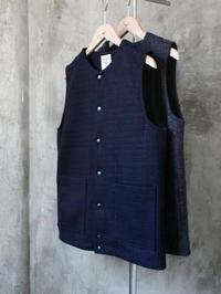 Jackman ウールジャージベスト - 【Tapir Diary】神戸のセレクトショップ『タピア』のブログです