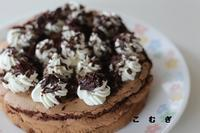 チョコレートケーキ焼きました - パン・お菓子教室 「こ む ぎ」