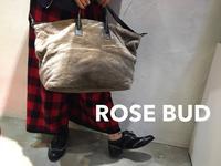 ROSE BUD(ローズバッド)新作小物入荷しました!! - UNIQUE SECOND BLOG