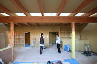 木工事さとう鍼灸接骨院 - 加藤淳一級建築士事務所の日記