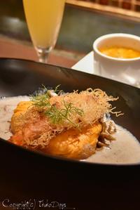"""土日ランチはちょっとゴージャスに """"究極のオムソバ"""" を食べてみよう:『 京ちゃばな 』 新宿 - IkukoDays"""