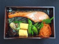 9/13海苔鮭弁当 - ひとりぼっちランチ