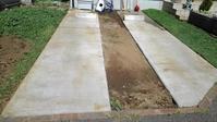 駐車場のクラピア刈り - うちの庭の備忘録 green's garden
