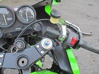 S本サン号 GPZ900Rニンジャ ケーヒンFCR37φキャブレターで試乗♪(Part5) - フロントロウのGPZ900Rニンジャ旋回性向上計画!
