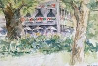koujiさんの絵「森の中のレストラン」 - greensleeves.poplar