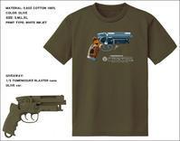 Tomenosuke Blaster T-shirt + nano (olive) - 下呂温泉 留之助商店 入荷新着情報