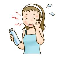 肌の乾燥を招くこと - 本厚木美容室『頭皮革命』で40代ママが毎朝笑顔になる!カットが上手な20年ベテラン美容師夫婦クロスロード