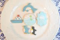 海のいきものクッキー - 調布の小さな手作りお菓子教室 アトリエタルトタタン