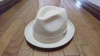 予備の中折れ帽を買いました『ボルサリーノ』中折れ帽(春夏) - ぶらりぶらぶら物語