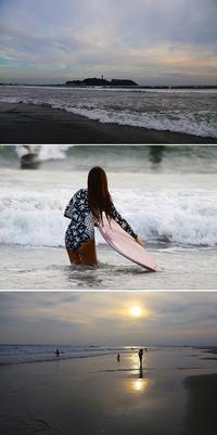 2017/09/13(WED) SUNSET KUGENUMA BEACH. - SURF RESEARCH