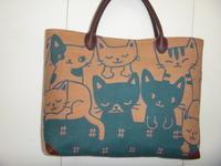 猫柄バッグ&小物 - mackeyの手作り小物
