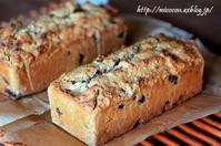 山栗ときなこのパウンドケーキ - 森の中でパンを楽しむ