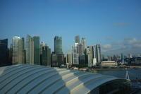 東南アジア3ヵ国の旅#1 マリーナベイサンズ - magic hour