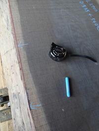 ウェンジの白太を活かす - SOLiD「無垢材セレクトカタログ」/ 材木店・製材所 新発田屋(シバタヤ)