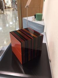 始まりました!「漆・うるわし女性漆作家3人のかたち」さっぽろ東急百貨店5階美術画廊です。 - いぷしろんの空