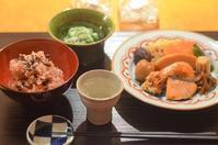 弁松のお弁当/長芋とオクラの和え物 - まほろば日記