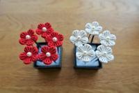 小花のUピン5本セット。 - ハナガラス