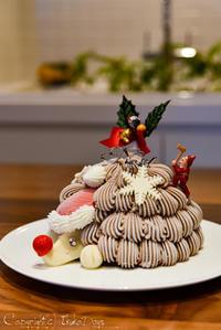 アントルメグラッセ(アイスケーキ)専門店、クリスマス新作発表会 : 『GLACIEL』 表参道 - IkukoDays