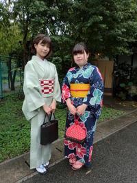 雨の後、浴衣、お着物でお出かけ。 - 京都嵐山 着物レンタル&着付け「遊月」