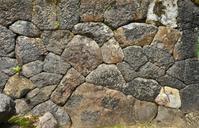 神社の石垣 - ふらりぶらりの旅日記