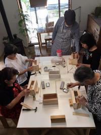 DIYワークショップ『プランターボックスを作ろう!』9月の部が終了しました。 - CROSSE 便り