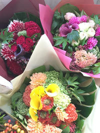 大きな花束 - clove-connolly staff blog
