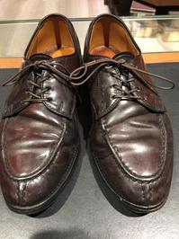 【コードバン】たまには気分を変えて - シューケアマイスター靴磨き工房 銀座三越店